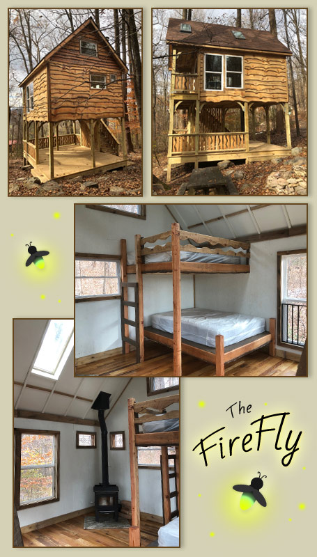 Deluxe Tree House Rustic Camping, Maryland